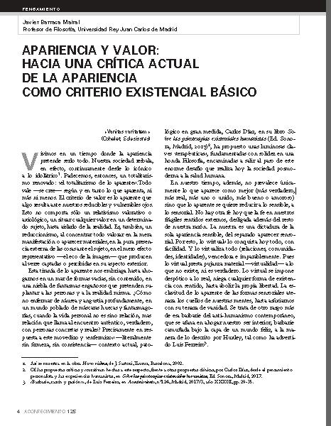 Cátedra de Estética Javier Barraca Hacia una crítica...