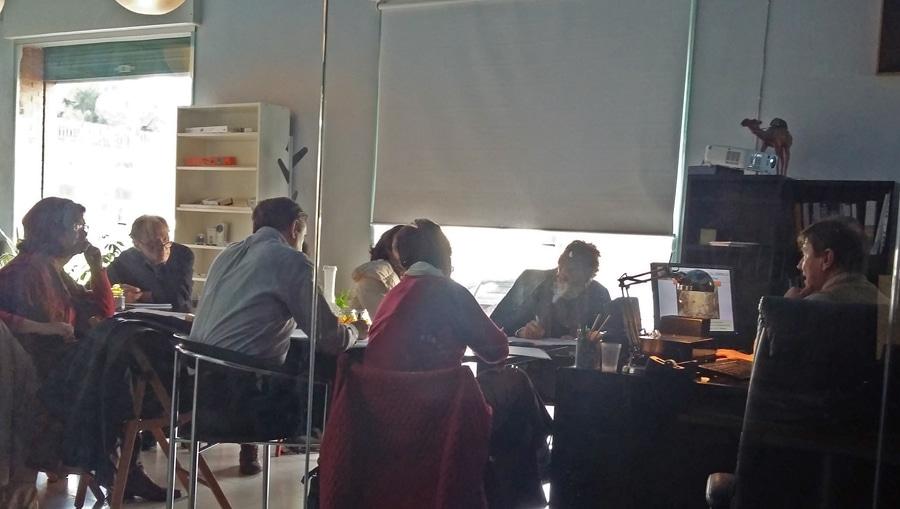 Aula de la Escuela de Humanidades Juan de Ávila